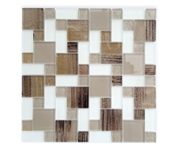 MX057 Glass Mosaic Tile